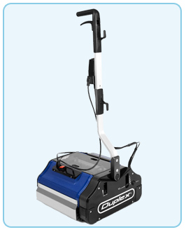 Floor scrubber with steam option to deep clean carpets